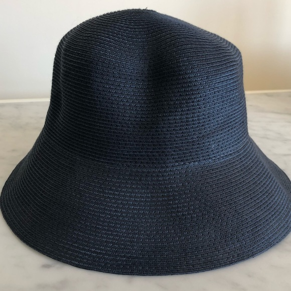 f557c1fa77b Eric Javits Accessories - Packable Navy Eric Javits Sunhat